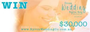 Byron Wedding – Win a $30000 Dream Wedding