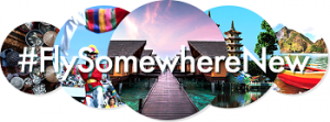 Cathay Pacific – Win 2 return economy class tickets to #FlySomewhereNew with Cathay Pacific Airways