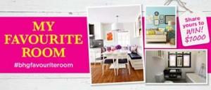 Channel 7 – Better Homes and Gardens – Share Your Favourite Room To Win $1,000