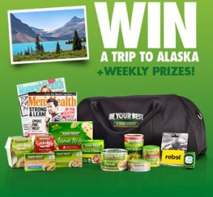 Channel Seven – The Amazing Race – Win A Trip To Alaska 2014 – John West Competition