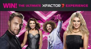 Channel Seven – X-Factor – Win A Trip To Italy 2014