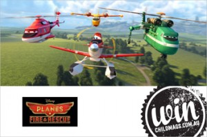Child Magazines – Win 1 of 5 in-season family tickets per state to the film Planes Fire & Rescue