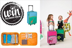 Child Magazines – Win 1 of 2 kid-sized Lassig Wildlife trolleys