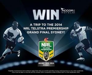 Coke Rewards – Win a trip to 2014 NRL Telstra Premiership Grand Final at ANZ Stadium Sydney