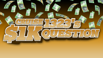 Cruise 1323 & Lakeside Goolwa – Win a share in $5000 cash