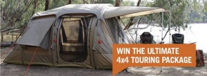 Darche – Win a 4×4 Touring package, Darche Hi-View 2 Roof Top Tent and an Eclipse Side Awning, value of $1,698