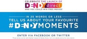 Dendy – Win a year of free movies at Dendy Cinemas