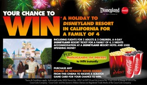 Event – Win a holiday to Disneyland in California for a family of 4