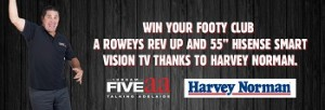 FiveAA – Win Rowey's Rev Up and 55″ Hisense Smart TV valued at $1,399