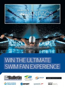 Gold Coast Bulletin – Win the ultimate Hancook Prospecting 2014 Pan Pacific Swimming Championships experience