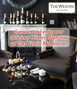 High Tea Society – Win high tea and a glass of Moet for 4 and a nights accommodation at the Westin Melbourne valued at $996