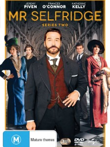 High Tea Society – Win 1 of 30 copies of Mr Selfridge Season 2 on DVD