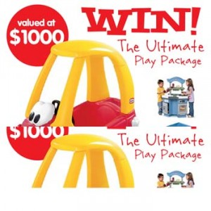Jump Star Trampolines – Win the Ultimate Little Tikes Play Package worth $1000