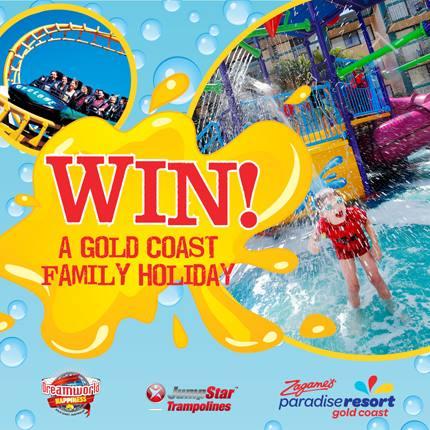 Jumpstar – Win a $2,200 family holiday at Paradise resort