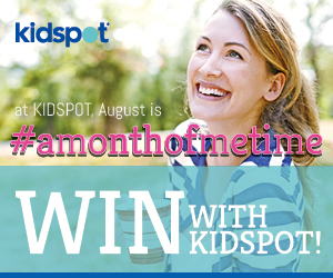Kidspot – Win $4,600 worth of prizes – August Competition