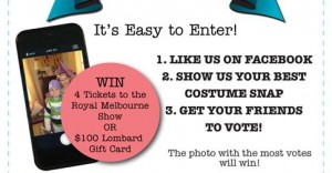 Lombard The Paper People – Win 4 tickets to the Royal Melbourne Show OR $100 Lombard Gift Card