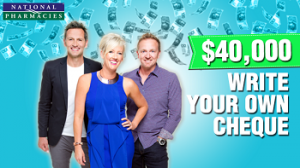 Mix102.3 – National Pharmacies – Win a share of $40K Giveaway