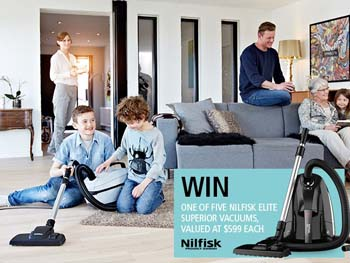 Mother and Baby – Win 1 of 5 Nilfisk Elite Superior Vacuum Cleaners