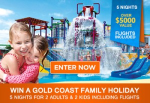 Mouths of Mums – Win a 5 Night Family Holiday in Gold Coast