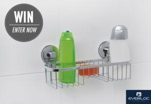 Mouths of Mums – Win 1 of 10 Everloc Stainless Steel Bathroom Shelfs
