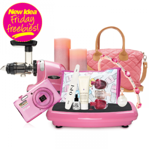New Idea Magazine – Win one of 2 prize packs, valued over $2,500 with New Idea Friday Freebies