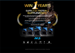 Nutrients Direct – Win 1 year's supply of protein and supplements