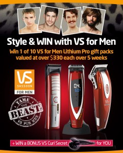 Style & WIN with VS for Men