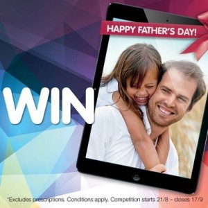 Pharmacist Advice – Win 1 of 10 iPads this Father's Day 2014