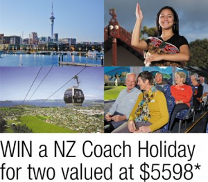 Probus – Win a New Zealand Coach Holiday for 2 valued at $5,598