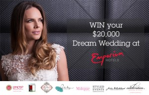 Queensland Brides – Win $20000 Dream Wedding at Emporium Hotels