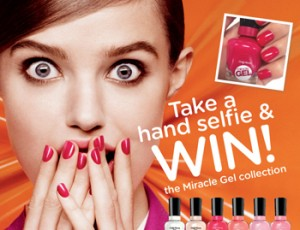 Sally Hansen – Take a hand selfie & Win the Miracle Gel Collection
