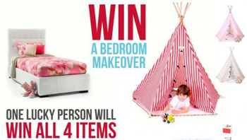 School Mum – Win a Bedroom Makeover from Hip Kid