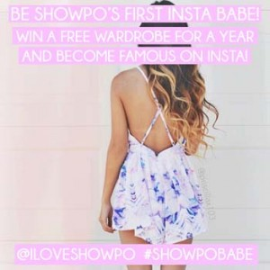 Showpo – Win a free wardrobe for a year and become famous on Insta