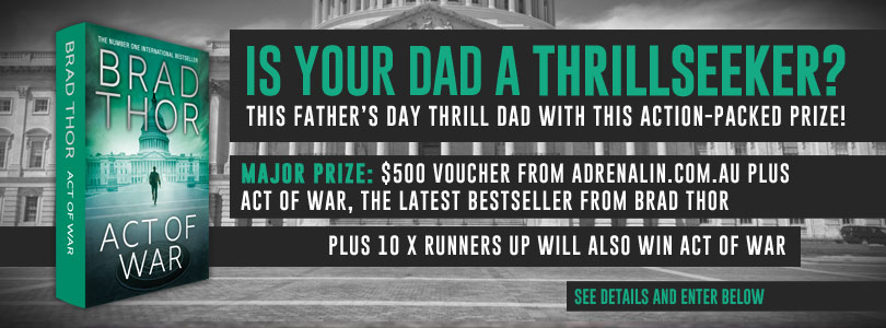 Simon & Schuster Australia – Win a $500 Gift Voucher plus a copy Act of War