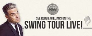 Smooth FM – Win tickets to Robbie Williams Swing Tour Live 2014