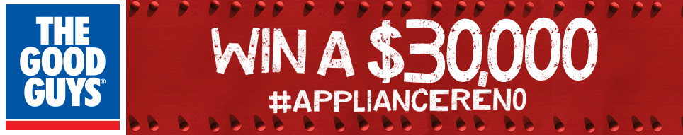 The Good Guys – Win A $3,000 #Appliancereno
