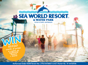 Tout Mon Amour – Win a 4 night Seaworld Gold Coast Holiday + $500 Anaconda Gift Card + $200 Bonds Gift Card