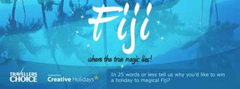 Travellers Choice – Win a holiday to Fiji
