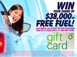 United Discount Chemist – Win 1 of 38 $1000 BP fuel gift cards