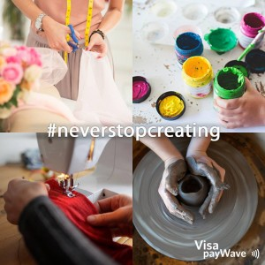 Visa Australia – Win a $1,000 Visa Gift Card with #neverstopcreating Instagram