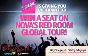 Win the chance to join the Nova's Red Room Global Tour to see Usher in New York and G.R.L in Las Vegas – Daily Telegraph -Sunday Telegraph