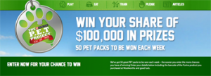 Woolworths – Purina – Win a share of $100,000 in Prizes