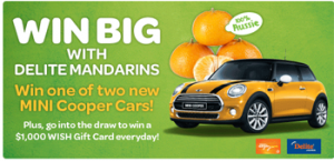 Woolworths – Win 1 of 2 brand new MINI Cooper Cars