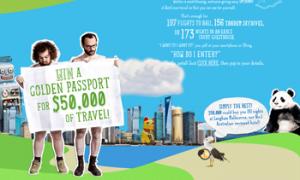 Wotifia – Win a Golden Passport for $50000 of Travel