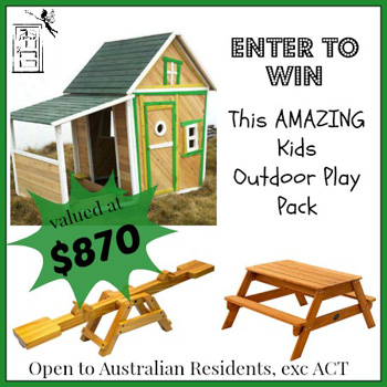A-door-able – Win an amazing kids outdoor play pack