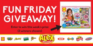 ALEX Toys – Fun Friday Giveaway