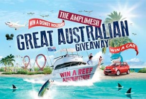 Amplimesh – Win 1 of 3 magnificent major prizes plus go into the draw to Win one of fabulous monthly prizes