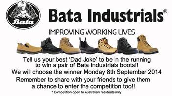 Bata Industrials Australia – Win a pair of Bata Industrials boots for Dad