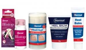 Beauty Heaven – Win 1 of 10 Dermal Therapy Summer Foot Care Packs