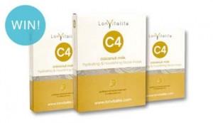 Beauty Heaven – WIN 1 of 5 LonVitalité C4 Coconut Milk Hydrating & Nourishing Face Masks
